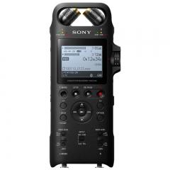 索尼(SONY)专业数码录音笔PCM-D10 16GB 黑色 数字降噪Hifi无损播放 大直径三向双麦克风