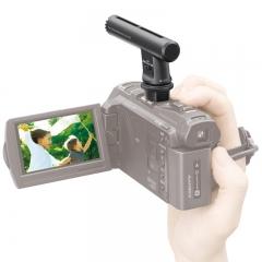 索尼(SONY)ECM-GZ1M 枪形变焦麦克风(适用索尼7系微单/部分摄像机/部分黑卡型号 以索尼官网为准)