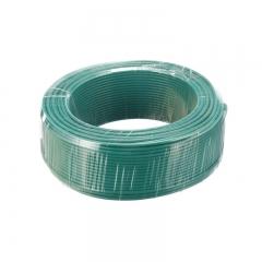 金山(JINSHAN)国标单芯塑铜线 硬线 电线 电缆 BV6平方 绿100M/盘