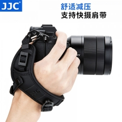 JJC 微单相机手腕带 索尼A7M3 A6300 A6400富士XT30 XT20尼康Z7 Z6佳能M50 M6机身摄影配件 快抢手快摄减压