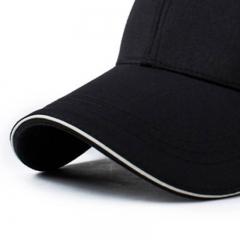 GLO-STORY 棒球帽 男士户外运动遮阳帽韩版百搭鸭舌帽 MMZ814107 黑色