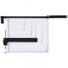得力(deli) 8014 钢质切纸机/切纸刀/裁纸刀/裁纸机 300mm*250mm