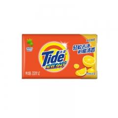 汰渍 全效360度洗衣皂(柠檬清香)202g*2 透明皂 肥皂