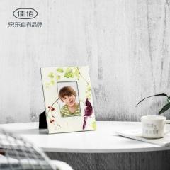 佳佰  礼品相框画框摆台 挂墙送礼美式花鸟10英寸相框