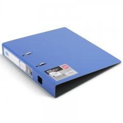 得力(deli)商务办公全新工艺加厚PP2寸快劳夹 A4 单只装 蓝色