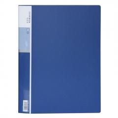 得力(deli)10只A4/40页资料册 文件收纳册 活页插袋文件夹 办公用品5004