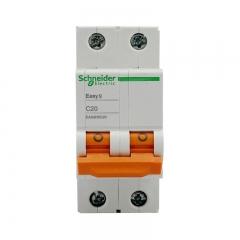 施耐德电气(Schneider Electric)家用微型断路器 空气开关 双进双出双极空开 2P C20A EA9系列EA9AN2C20R