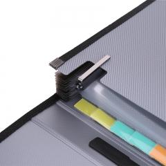 得力(deli) A4/13格软手柄手提风琴包 资料包文件包 单只颜色随机5556
