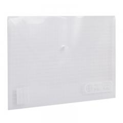 晨光(M&G)A4白色方格钮扣袋按扣袋文件袋资料袋 12个装ADM94516