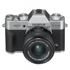 富士微单(FUJIFILM)X-T20 XC15-45 微单/照相机 银色 2430万像素 XT20 翻折触摸屏 4K