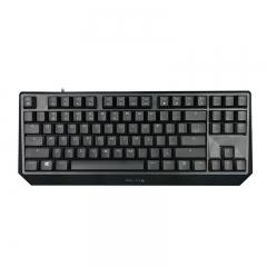 樱桃(Cherry)MX1.0 TKL G80-3811LYAEU-2  机械键盘 有线键盘 87键背光机械键盘 黑色 红轴