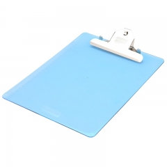 齐心(Comix) A745 A4便携式书写蝴蝶夹/板夹 蓝色