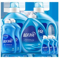 蓝月亮洗衣液机洗手洗12.48斤套装:机洗2kg*2+手洗1kg+手洗预涂500g*2+旅行装80g*3