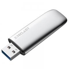 台电(Teclast)32GB USB3.0 高速U盘 幻影X 银色 高密封装锌合金外壳  商务优盘