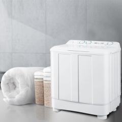 海尔(Haier)7公斤 强力洗涤 双桶双缸洗衣机 XPB70-1186BS