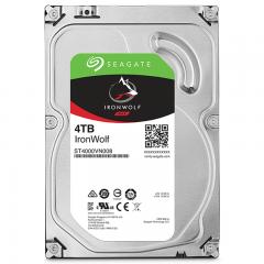 希捷(Seagate) NAS硬盘 4TB 64MB 5900转 PMR CMR垂直磁记录 网络存储 SATA 希捷酷狼IronWolf ST4000VN008