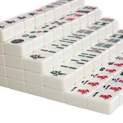 尚客诚品(suncel)麻将牌 牙黄色40mm麻将牌 家用麻将一等品 一体成型