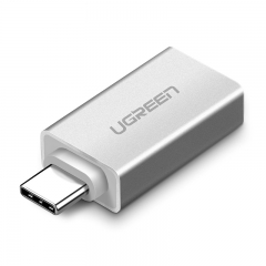 绿联 OTG线转接头 Type-C转USB3.0安卓接U盘数据线USB-C转换器 通用华为Mate30Pro小米8荣耀三星手机MacBook