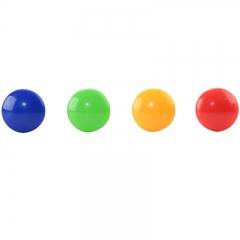得力(deli)彩色白板磁钉黑板吸铁石/磁铁φ30mm 48粒/筒白板配件8725