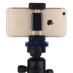 百诺(Benro)MH2B 自拍杆三脚架固定支架 通用手机固定夹 折叠便携带反光镜