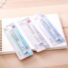 得力(deli)小号铝合金护套美工刀壁纸刀裁纸刀 办公用品 颜色随机2086