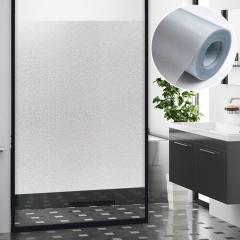 QUATREFOIL 玻璃贴纸  磨砂玻璃贴膜 免胶静电门窗户卫生间浴室办公室透光不透明窗户贴膜 60*200cm