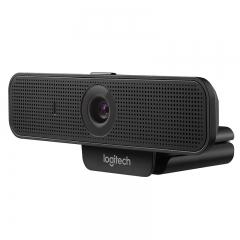 罗技(Logitech)C925e 高清会议室摄像头 主播摄像头 自动对焦 镜头关闭开关 保护隐私 1080P