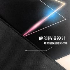 飞遁(LESAILES)800*300*3mm镭射三角游戏电竞鼠标垫 超大电脑键盘桌垫 易清洁