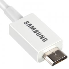 三星(SAMSUNG)原装安卓数据线 USB2.0手机充电线 S7edge/NOTE6/S5+ 安卓三星/华为/小米充电器 1米白色