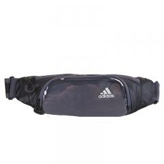阿迪达斯(Adidas)男女款户外运动腰包 休闲旅游运动腰包 BR1354 黑色