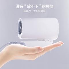 须眉(SMATE)负离子电吹风机  便携折叠 大功率自动控温  SH-A121 白色