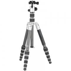 百诺(Benro)IC09T 反折可变独脚架 碳纤维三脚架云台套装 单反微单相机轻量便携款