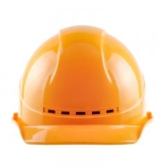 星工(XINGGONG)安全帽透气工程工地建筑施工防砸劳保监理领导电力ABS 黄