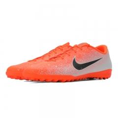 耐克NIKE 中性 足球鞋 VAPOR 12 ACADEMY TF 运动鞋 AH7384-801 橙色 41码
