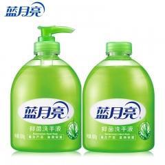蓝月亮 芦荟抑菌 滋润保湿洗手液  500g瓶+500g瓶装补充装