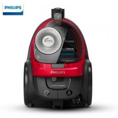 飞利浦(PHILIPS)卧式吸尘器大功率家用强劲吸力高效过滤无尘袋FC9588/81
