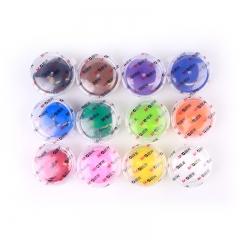 晨光(M&G)儿童12色轻质粘土彩泥4D橡皮泥儿童手工益智 适合3岁以上 JKE03980