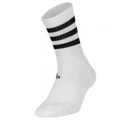 阿迪达斯 ADIDAS 男女 配件系列 3S CSH CRW3P 运动 袜子 DZ9346 S码