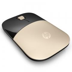 惠普(HP)Z3700 无线鼠标 便携办公鼠标 金色