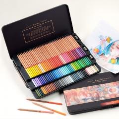 马可(MARCO)雷诺阿3100系列 120色油性彩色铅笔美术设计专业填色手绘彩铅笔 铁盒装3100-120TN