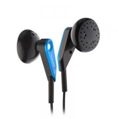 漫步者(EDIFIER) H185 手机耳机 时尚炫彩耳塞 低频出众 电光蓝色