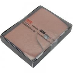 信发(TRNFA) TB-1-01 (棕色) 高级皮面卡皮包男女多卡位卡包 银行卡套 商务名片册名片夹时尚防消磁卡包