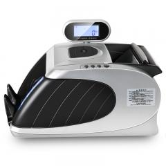 得力(deli) 33090 智能语音点钞机/验钞机 可混点 USB升级 银灰色