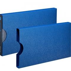 齐心(Comix) A611 美石系财务增值税发票夹/票据夹/单据文件夹 配外壳 钛蓝 办公文具