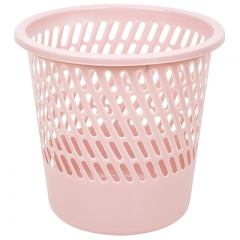 vivian 斜形卫生桶 垃圾桶 办公家用纸篓 颜色随机 垃圾分类 WWA-1108