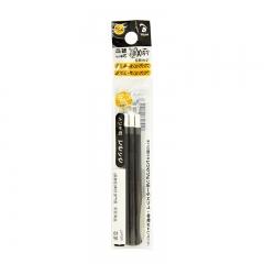 日本百乐(PILOT)可擦多功能笔芯子弹头热可擦笔替芯 黑色 0.38mm 3支装 LFBTRF30UF3B原装进口