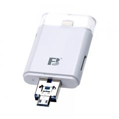 沣标(FB) OTG6苹果手机多功能读卡器 USB/Lightning两用 支持SD/TF卡 适用iphone安卓手机 相机 笔记本电脑