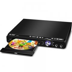 先科(SAST)SA-128B DVD播放机(CD机 VCD DVD巧虎高清播放器 影碟机 USB光盘光驱播放机)(黑色)