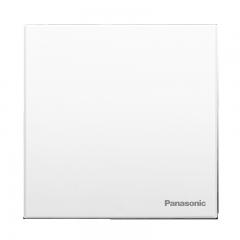 松下(Panasonic)开关插座面板 一开单控开关面板 悦宸系列 单开单控开关面板 86型 WMWM501白色