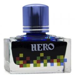 英雄(HERO)钢笔/签字笔钢笔墨水 非碳素染料型彩色墨水系列 7106彩墨蓝色